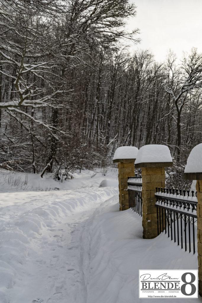 Blende8 Nordhessen Baunatal Schnee Foto-Nr. 3015-113