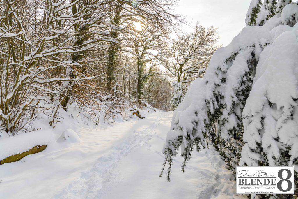 Blende8 Nordhessen Baunatal Schnee Foto-Nr. 3015-109
