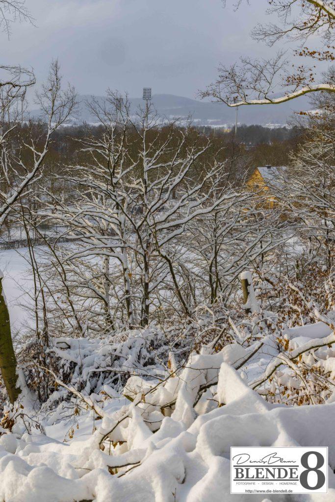 Blende8 Nordhessen Baunatal Schnee Foto-Nr. 3015-105