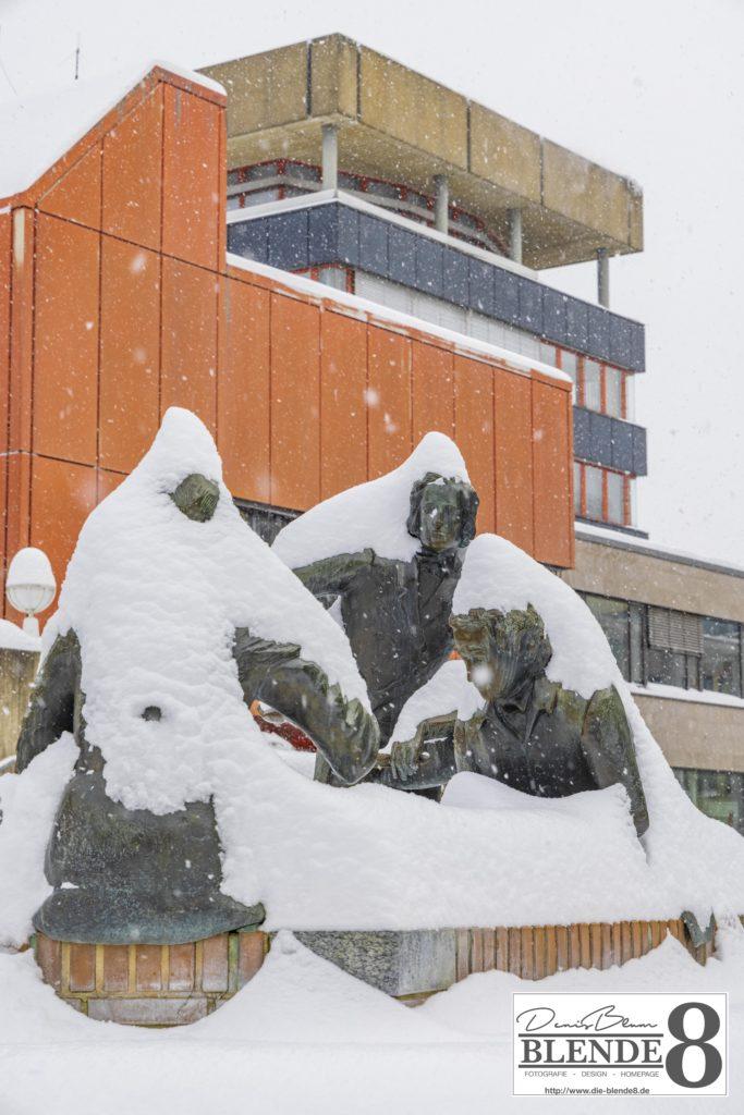 Blende8 Nordhessen Baunatal Schnee Foto-Nr. 3015-75