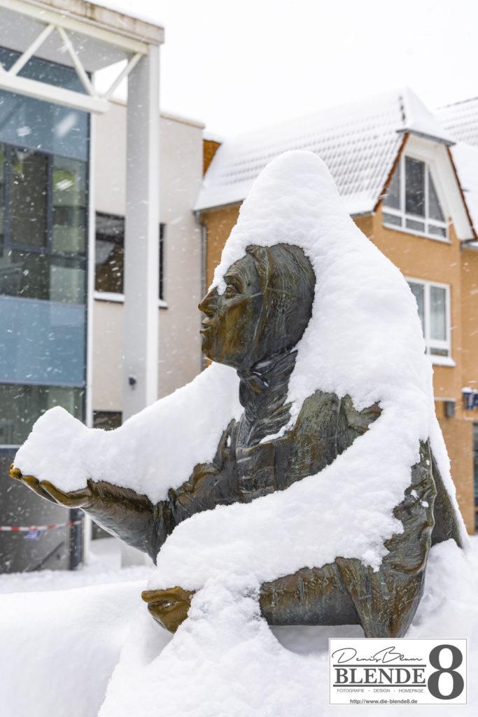 Blende8 Nordhessen Baunatal Schnee Foto-Nr. 3015-72