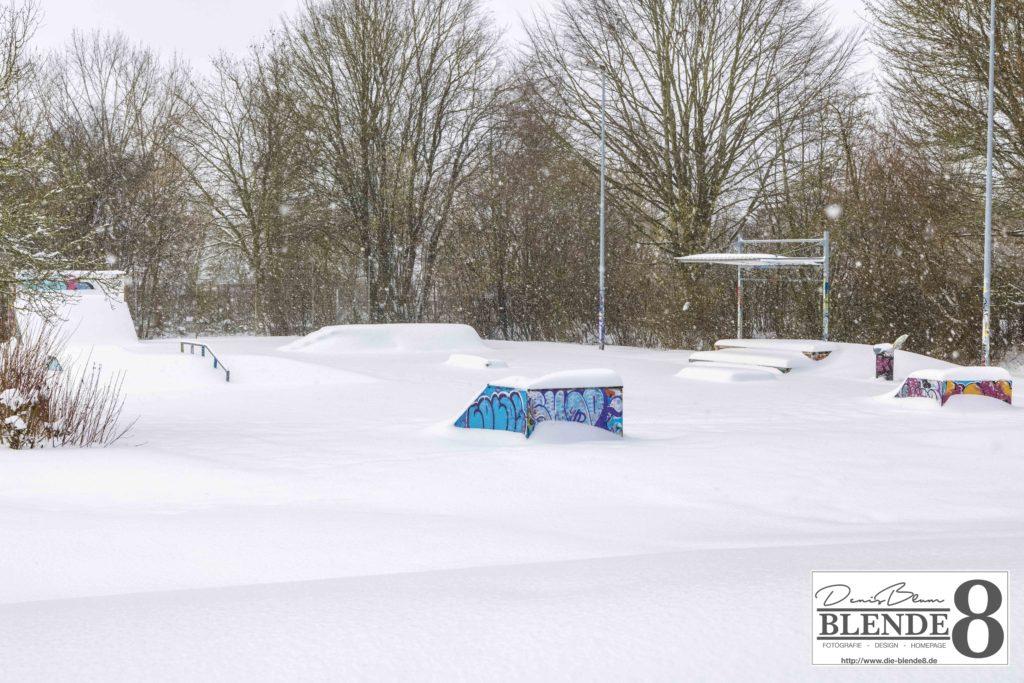 Blende8 Nordhessen Baunatal Schnee Foto-Nr. 3015-43