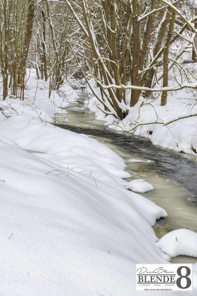 Blende8 Nordhessen Baunatal Schnee Foto-Nr. 3015-24