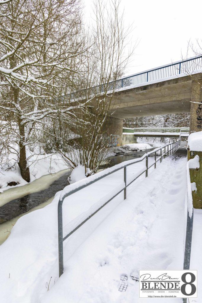 Blende8 Nordhessen Baunatal Schnee Foto-Nr. 3015-23
