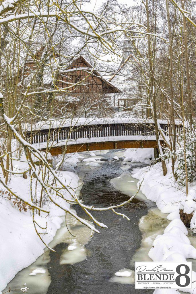 Blende8 Nordhessen Baunatal Schnee Foto-Nr. 3015-19