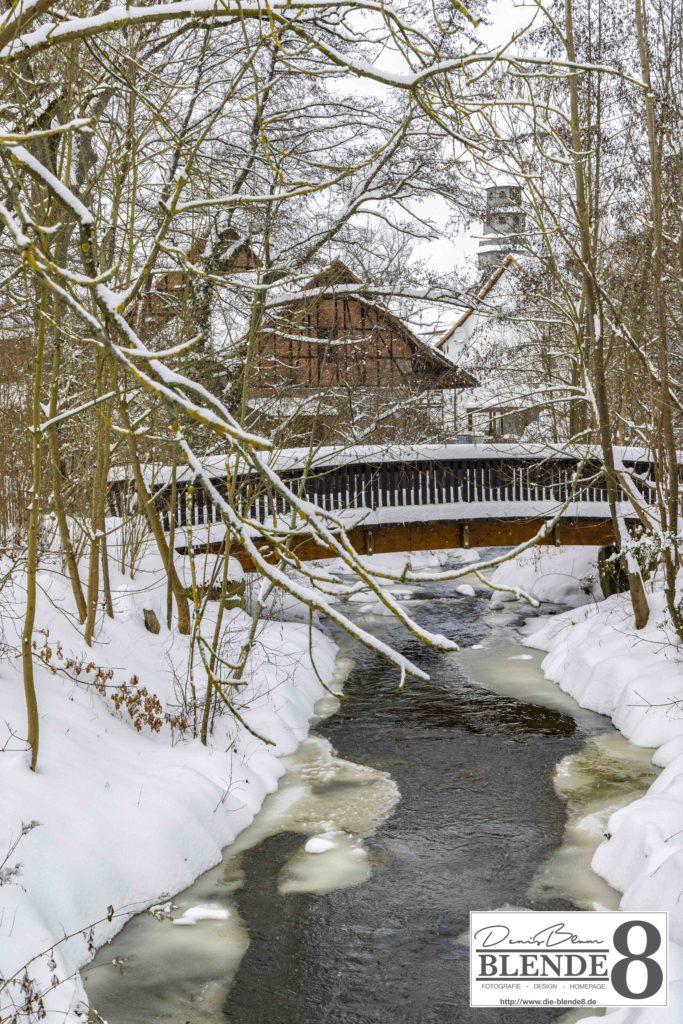 Blende8 Nordhessen Baunatal Schnee Foto-Nr. 3015-17