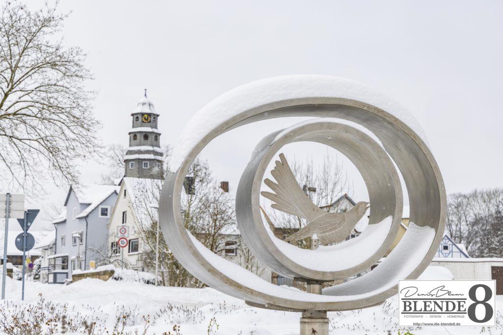 Blende8 Nordhessen Baunatal Schnee Foto-Nr. 3015-15