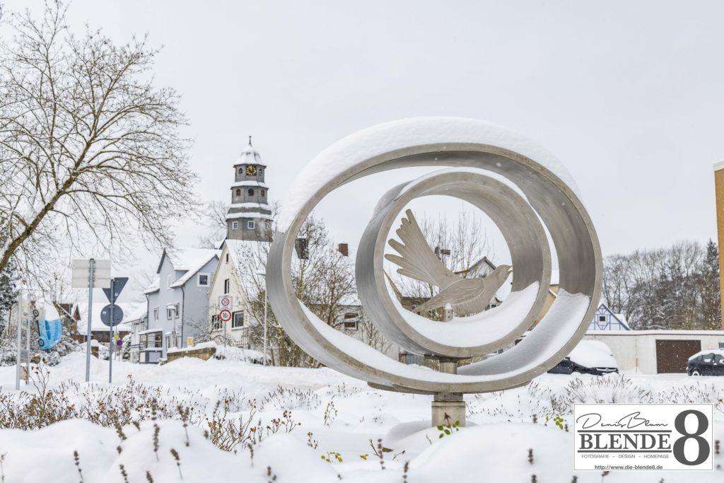 Blende8 Nordhessen Baunatal Schnee Foto-Nr. 3015-14