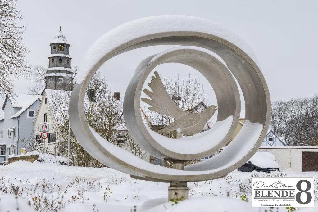 Blende8 Nordhessen Baunatal Schnee Foto-Nr. 3015-13
