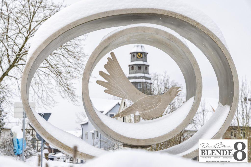 Blende8 Nordhessen Baunatal Schnee Foto-Nr. 3015-12