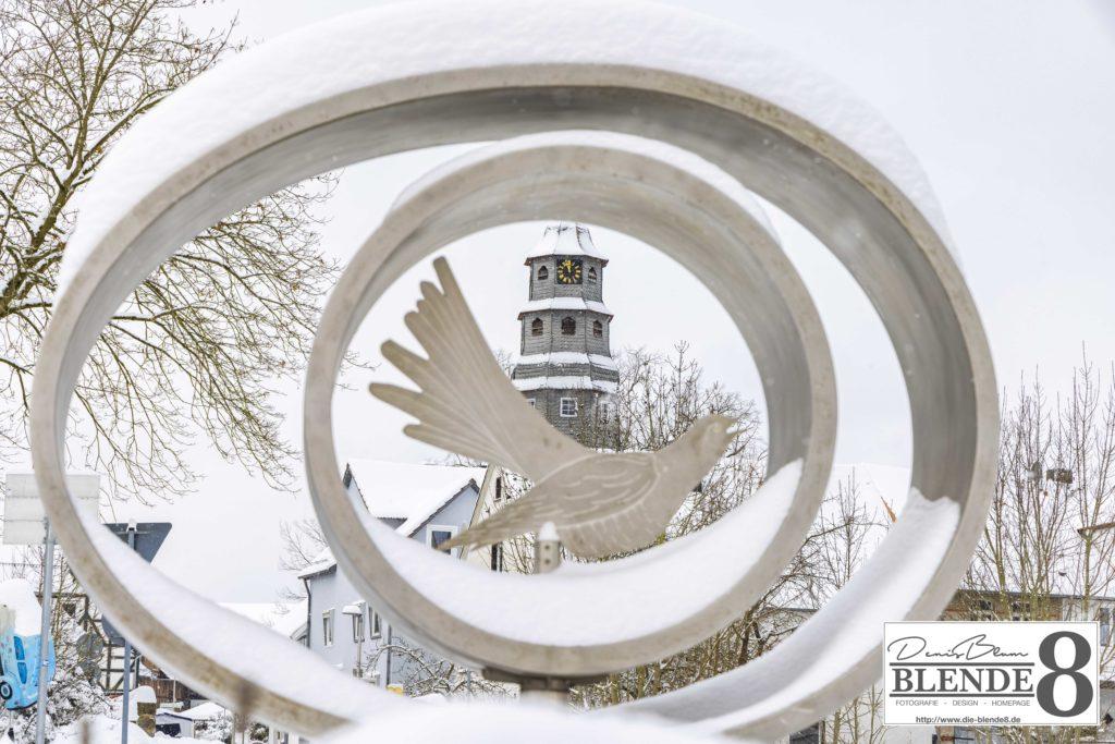 Blende8 Nordhessen Baunatal Schnee Foto-Nr. 3015-11