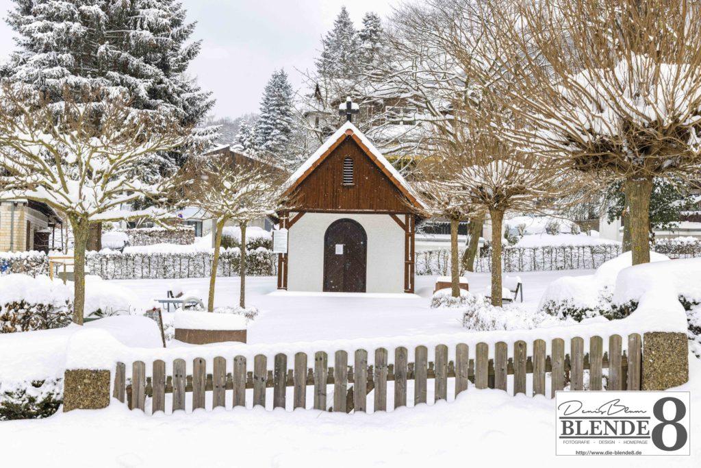 Blende8 Nordhessen Baunatal Schnee Foto-Nr. 3015-7