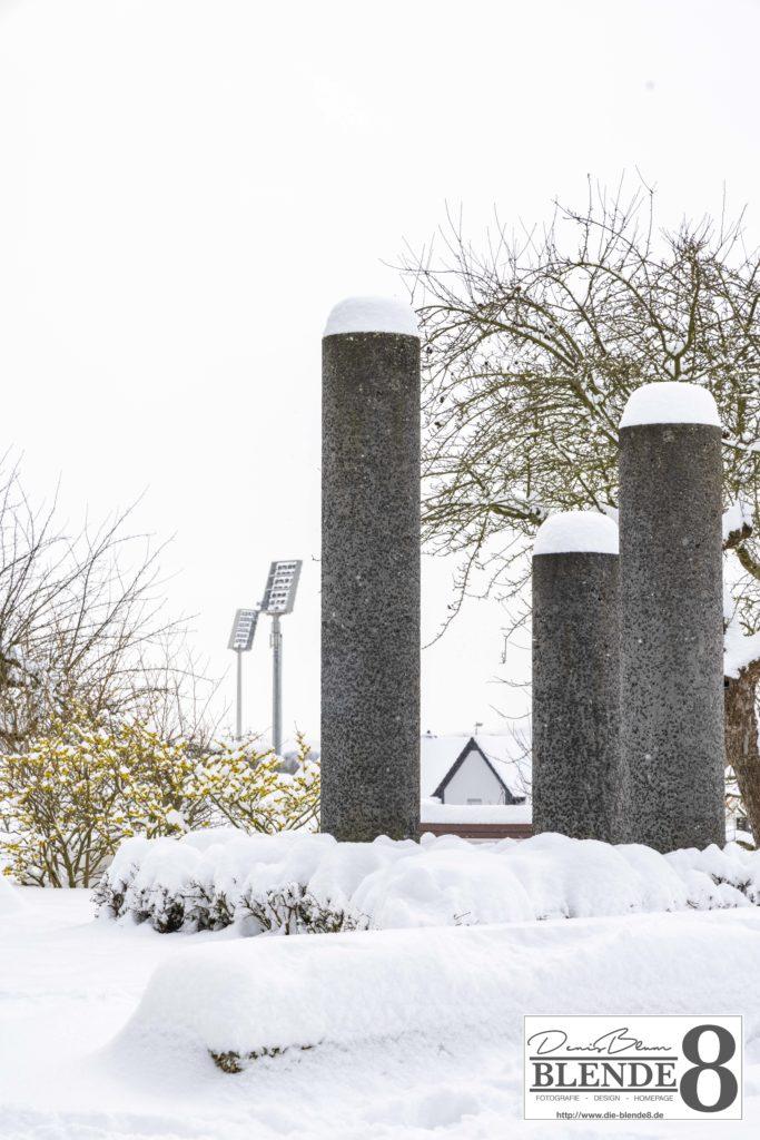 Blende8 Nordhessen Baunatal Schnee Foto-Nr. 3015-5