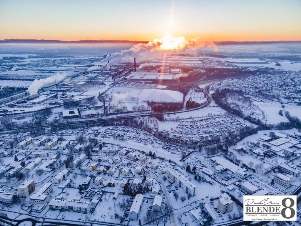 Blende8 Nordhessen Baunatal Luftaufnahmen Foto-Nr. 3003-00046