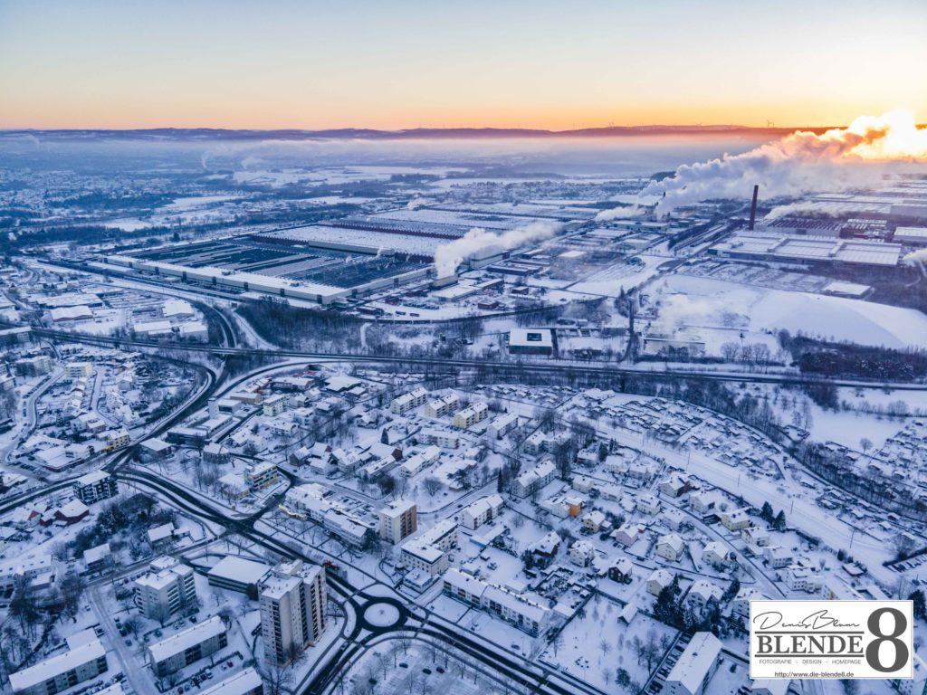 Blende8 Nordhessen Baunatal Luftaufnahmen Foto-Nr. 3003-00047