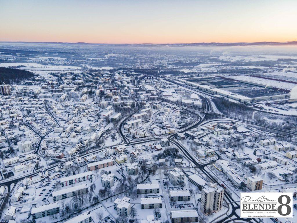 Blende8 Nordhessen Baunatal Luftaufnahmen Foto-Nr. 3003-00048