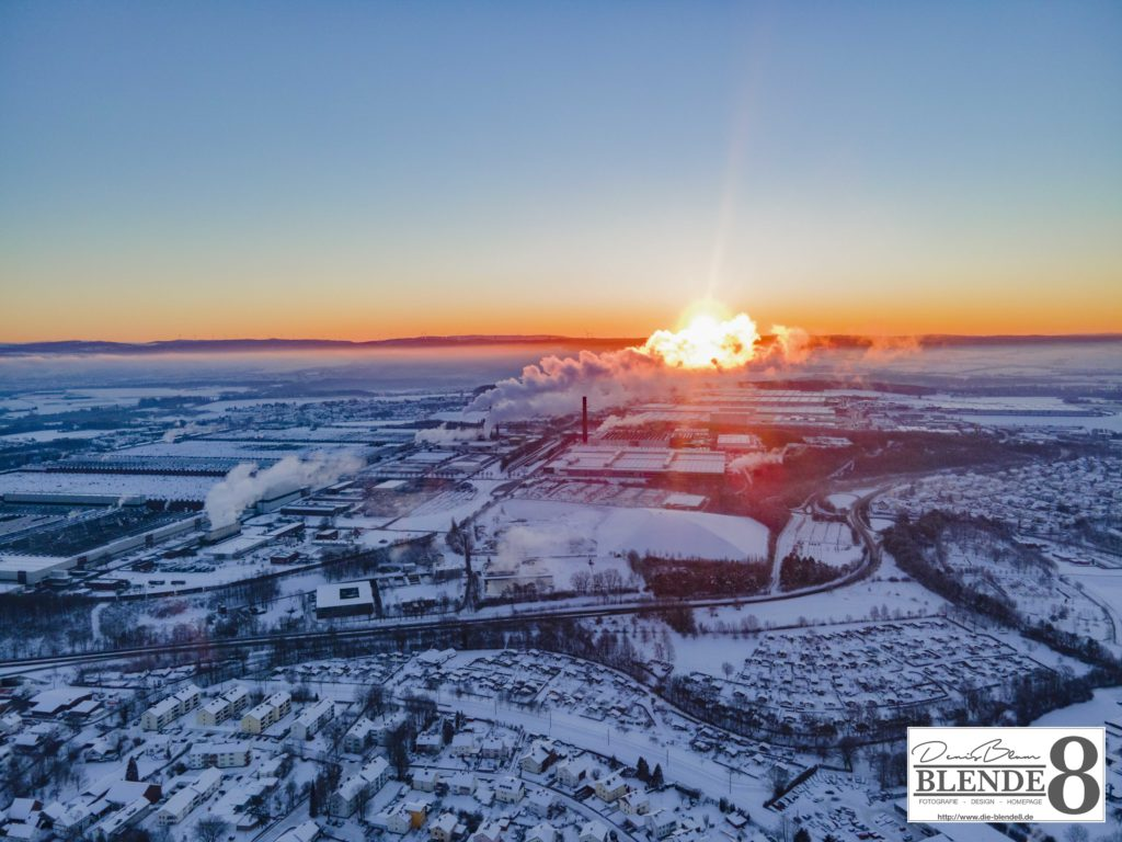 Blende8 Nordhessen Baunatal Luftaufnahmen Foto-Nr. 3003-00050