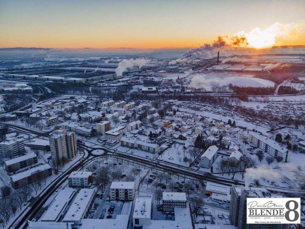 Blende8 Nordhessen Baunatal Luftaufnahmen Foto-Nr. 3003-00052