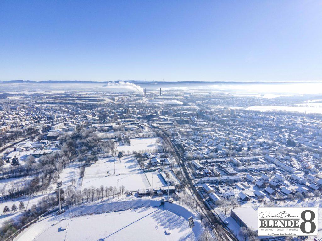 Blende8 Nordhessen Baunatal Luftaufnahmen Foto-Nr. 3003-00074